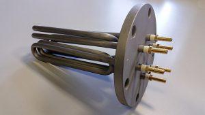 Resistenza Corazzata per macchine da stiro a 3 elementi